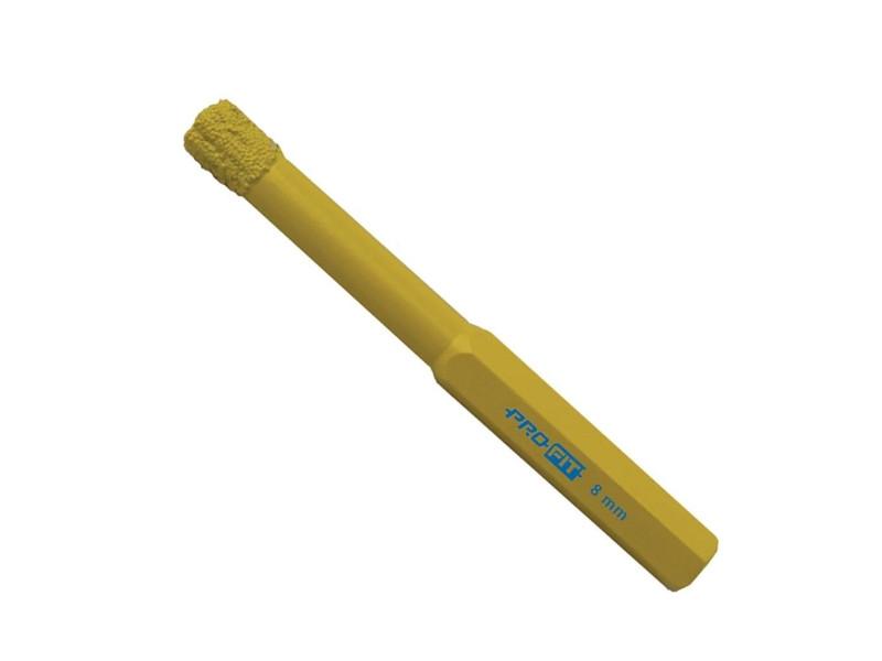 ProFit Diamondboor met zeskant aansluiting 8 mm, rond  12mm