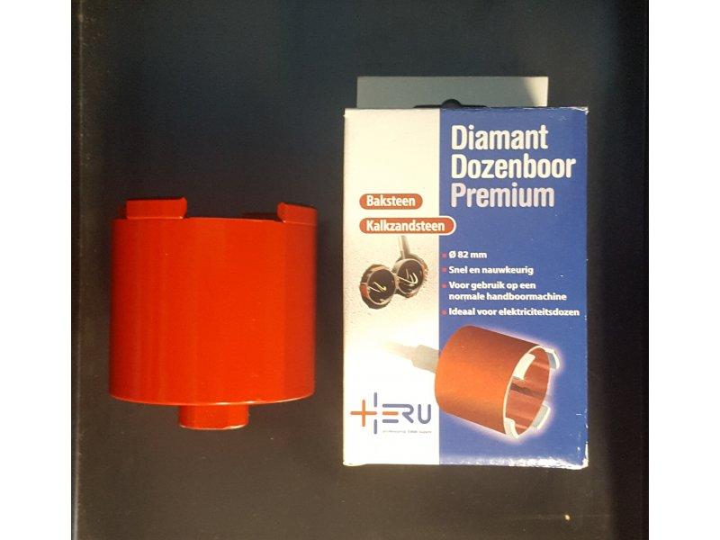 Heru Diamant dozenboor 82 mm 4 segm. type premium